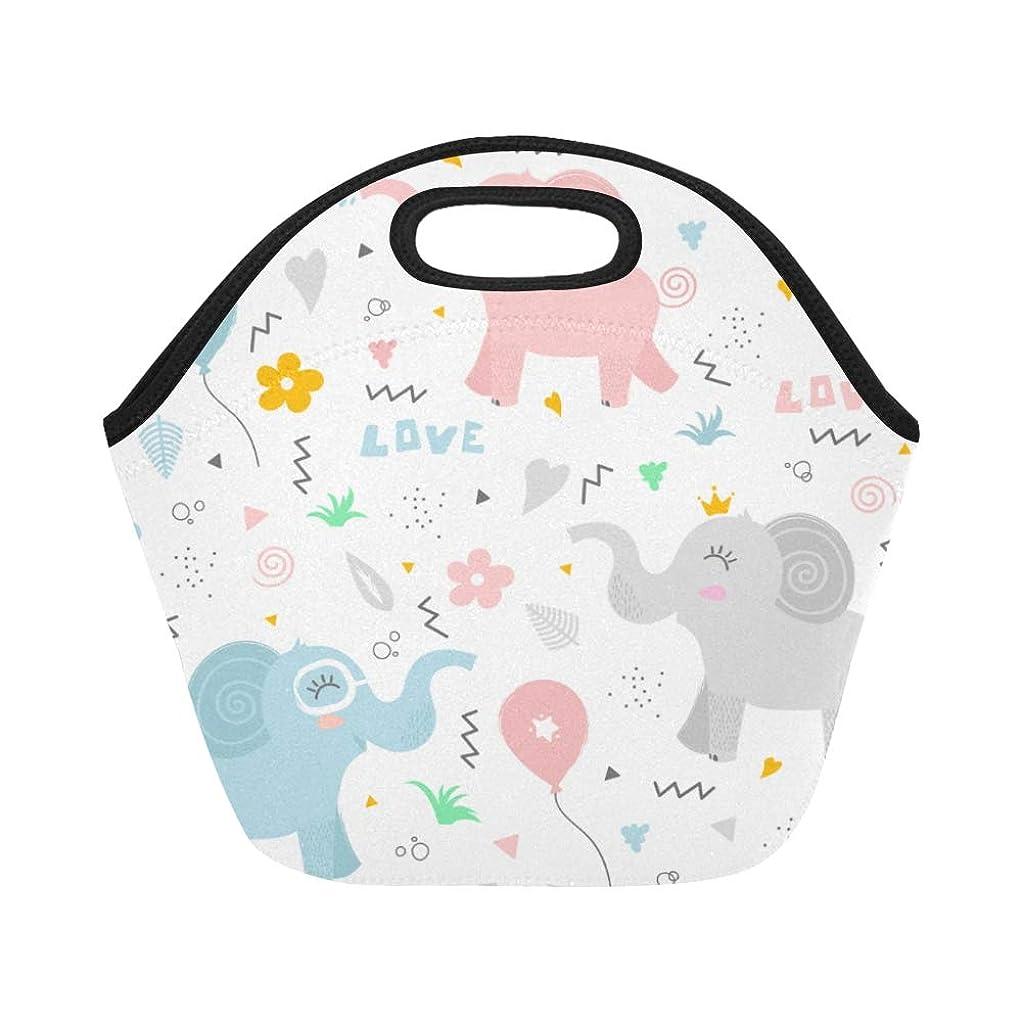 等々シンカンうがいCWSGH ランチバッグ かわいい動物や風船 弁当袋 お弁当入れ 保温保冷 トート 弁当バッグ 大容量 トートバッグ