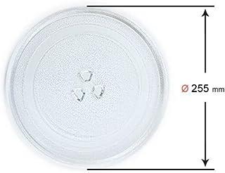 comprar comparacion Recamania Plato Giratorio microondas Balay Daewoo diametro 255 mm 3WG2421 4WG214A 3WG19X 3WH2126E