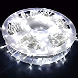 MYGOTO LED String Lights, 165FT 500LED 30V Plug in Waterproof String Lights with 8 Modes for Indoor and Outdoor Party Wedding Home Patio Lawn Garden Supplies (Cool White)