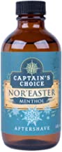 Captain's Choice Nor'Easter Menthol Scent Aftershave, 4 fl oz