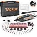 Tacklife Rotary Tool Kit with MultiPro Keyless Chuck & 150 Pcs Accessories