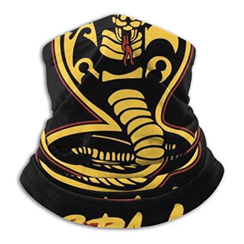NA 12-In 1 Bandana,Cobra Kai Material Karate Kid Magic Stirnbänder, Polyester Gesichtsschutz Für Sport Athletic Gym,26x30cm