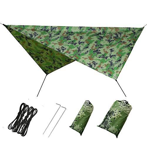 LOVEQIZI multifunctionele zonwering zeil outdoor waterdichte luifel luifel stof doek met Shelter Pergola tuin carport en picknick