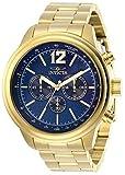 Invicta Men's 28896 Aviator Quartz Chronograph Blue Dial Watch