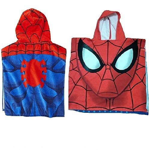 Poncho toalla Spiderman Marvel Ultimate microfibra
