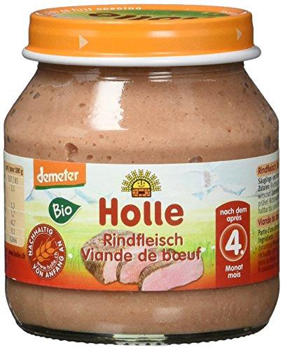 Holle Bio Rindfleisch, 6er Pack (6 x 125 g)