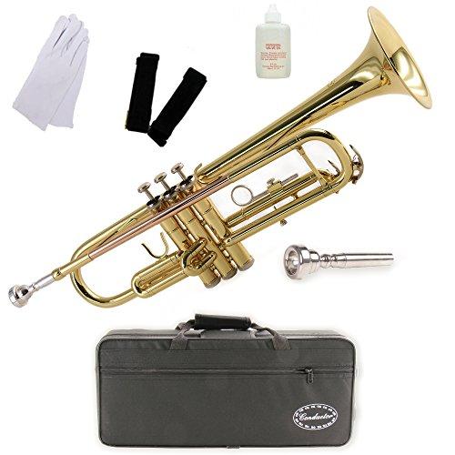 Conductor Model 200 Bb Trumpet w/ Case, Mouthpiece...