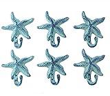 Iron Starfish Hook Set of 2- 5.5