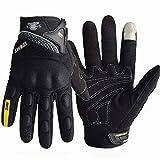 Guanti Moto Estivi Motocross Off Road Glove Full Finger Touch Screen Guanti Moto Ciclismo Racing per Mountain Bike e Regalo Divertente