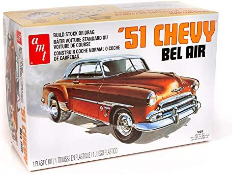AMT 1 25 Scale 1951 Chevy Bel Air Model Kit product image