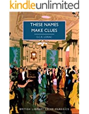 These Names Make Clues (English Edition)