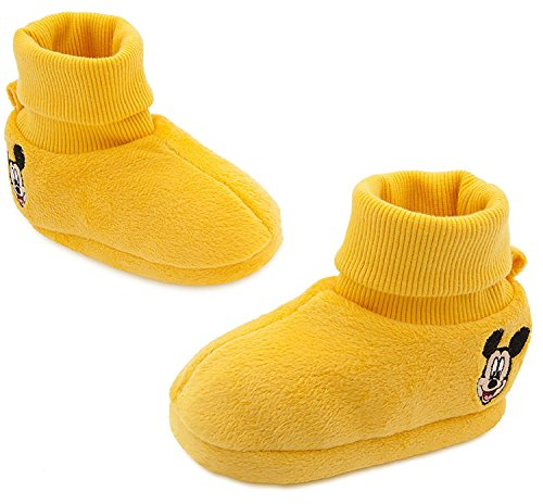 Disney Store Mickey Mouse'On with the shoe' Yellow Costume Shoes for Baby, 12-18 Months
