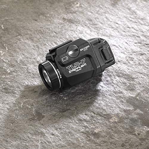 Streamlight 69420 Tlr-7 Low Profile Rail Mounted Tactical Light, Black - 500 Lumens