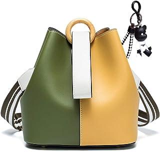 DEERWORD Damen Umhängetaschen Handtaschen Totes Henkeltaschen Schultertaschen Leder