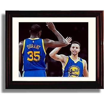 Framed Stephen Curry \u0026 Kevin Durant