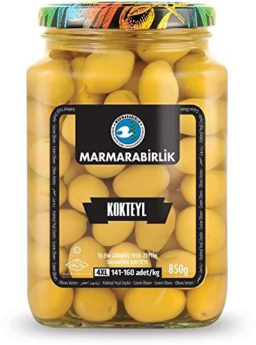 Dedication Marmara Birlik GREEN OLIVES 4XL WHOLE High order 850GR 141-160 GL KOKTEYL