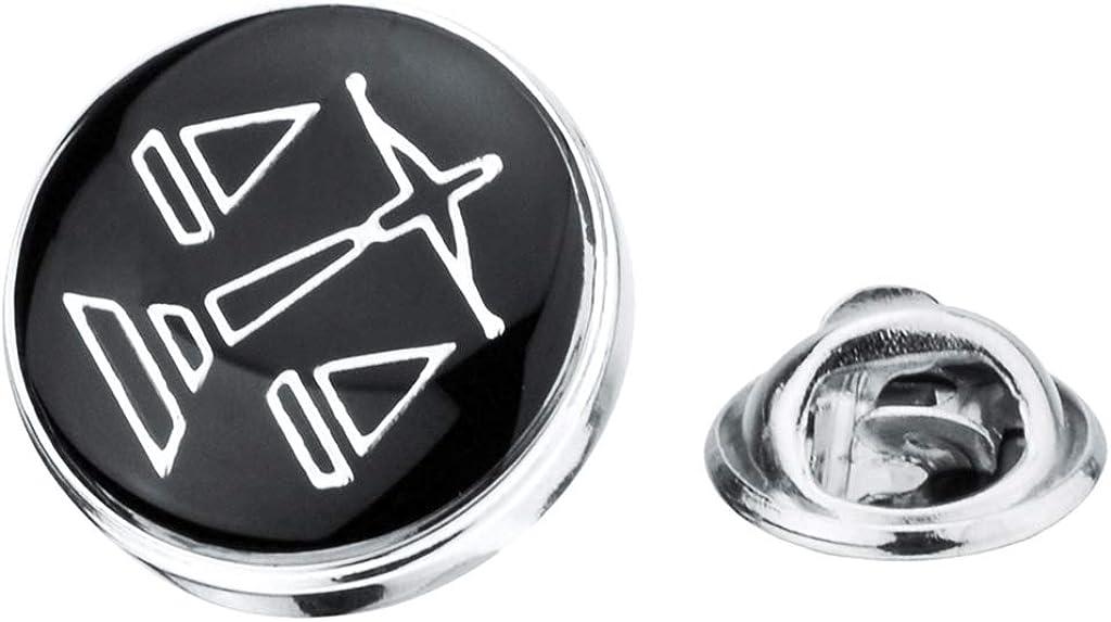 Harilla Men's Collar Badge Brooch Lapel Pin for Collar Collar Suit Shirt