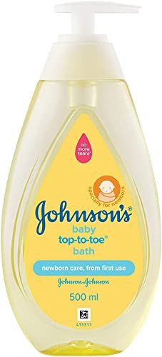 Johnson's Baby Top to Toe Bath Wash, 500ml