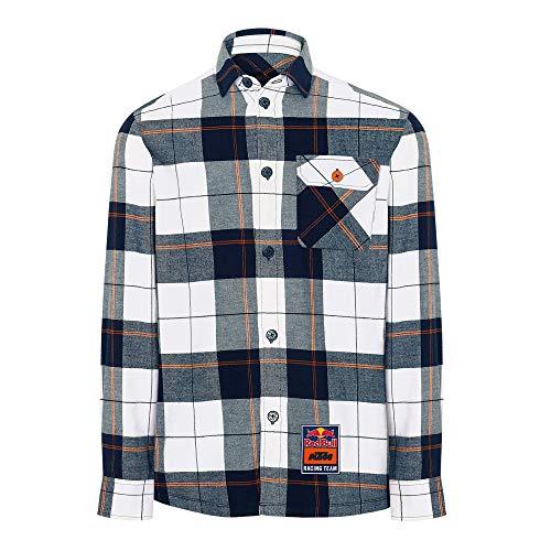 Red Bull KTM Fletch Camicia, Uomini Medium - Abbigliamento Ufficiale