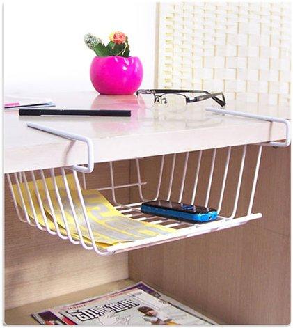HQQ Rack Shelves Storage Rack por Cradle Wardrobe Bottom Plate Oficina Cocina Escritorio Closet Desk Shelf
