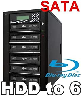 Spartan 12X 9 Targets SATA Blu Ray Tower Duplicator with Pioneer Drive