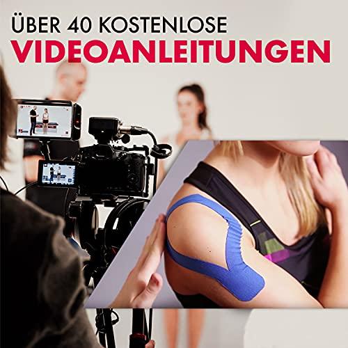 "Kintex Kinesiologie Tape""Classic"" Blau 5cm x 5m - 6"