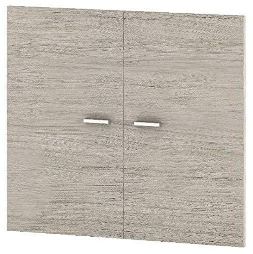 Röhr-Bush 854/220/9060 Tür Set für Aktenregal 300, 75.9 x 70 x 1.9 cm / driftwood