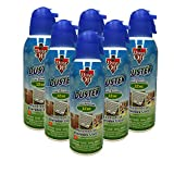 Falcon Dust-Off Compressed Gas Duster for Electronics Devices, 12 oz Cans Last Extra Long, 6 Packs