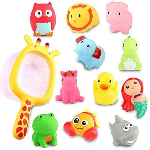 Toddler Bath Toys Mold Free Water Table Bathtub Toys, Baby Bath Toys Pool Bathroom Bath Time Submarine Set, Water Toys for Kids Infant Boys Girls Birthday Gifts Age 1 2 3 4 5 6 Year Old (Animal)