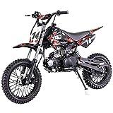 X-PRO 110cc Dirt Bike Pit Bike Kids Dirt Pitbike 110 Dirt Pit Bike(Red)
