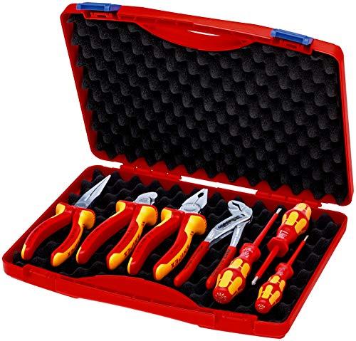 KNIPEX Werkzeug-Box 'RED' Elektro Set 2...