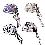 Huilongxin Sombreros de los Deportes Ajustable Sudor Transpirable Riding Campanas Absorbiendo Caps BUPCie para Riding Running