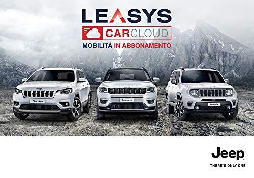 Iscrizione Leasys CarCloud Adventure Cherokee, Compass e Renegade