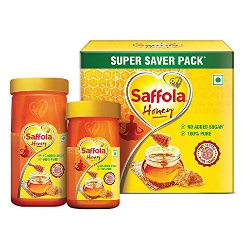 Saffola Honey, 100% Pure NMR tested Honey, 750g (Super Saver Pack)