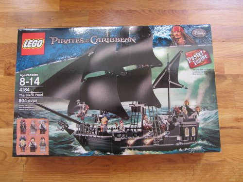 LEGO Pirates of the Caribbean Black Pearl 4184 (Discontinued by manufacturer)