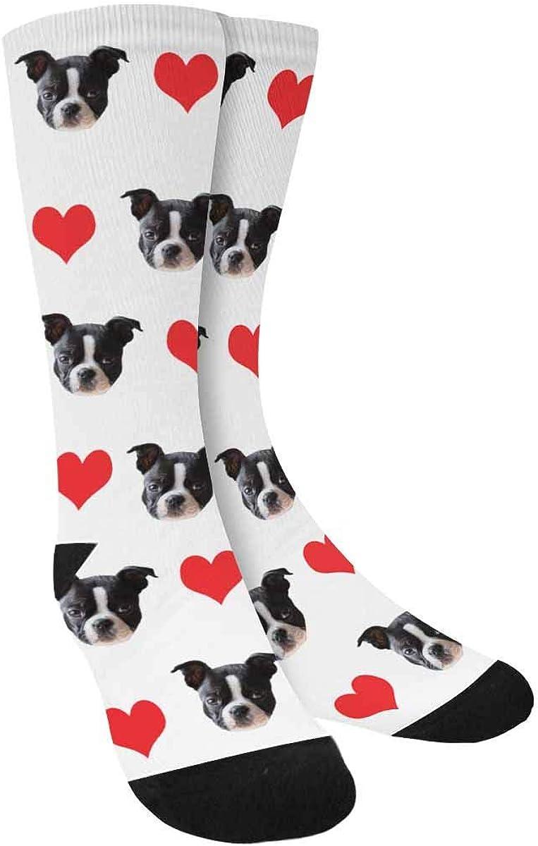 D-Story Custom shopping Dog Socks for Award inch Women Men and 15.35