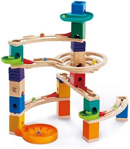YZWJ Kinderspielzeug 3 Ans et Plus, Jouets éducatifs, Blocs de Balle, Blocs de Bois, Enfants, capacité d'exercice, la Formation de la logique mathématique