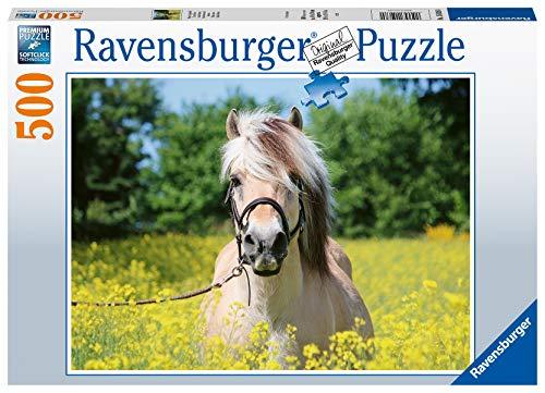 Ravensburger Puzzle 15038 - Pferd im Rapsfeld - 500 Teile