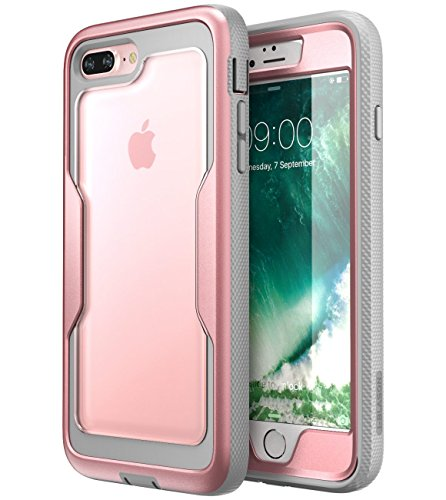 Capa i-Blason para iPhone 8 Plus, [Proteção resistente] [Série Magma] Redução de choque/Capa de para-choque de corpo inteiro com protetor de tela integrado para iPhone 7 Plus 2016 / iPhone 8 Plus 2017