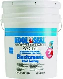 KST COATINGS  KST063300-20    Elastomeric Roof Coating 5-Gallons