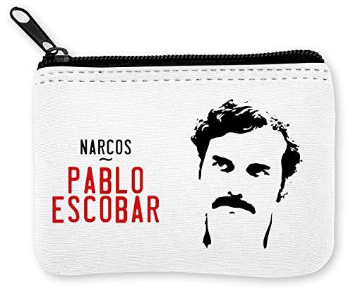 Pablo Escobar Narcos Series Münzen Reißverschluss Geldbörse
