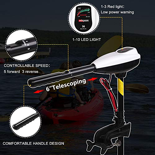 Trolling Motor Controllable Speed
