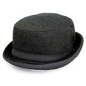 ポークパイハット ハット Pork Pie HAT 帽子 62.0cm ブラック
