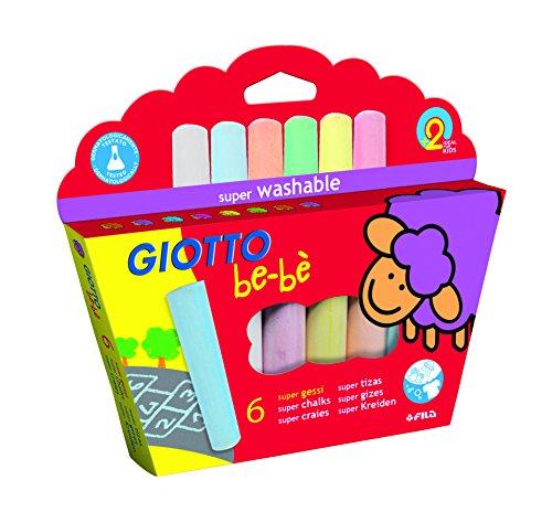 Giotto be-bè 467300 - Pack de 6 súper tizas