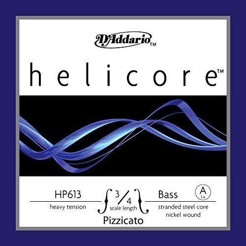 D'Addario HP613 3/4H - Cuerda para contrabajo de níquel, 3/4