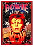 Theissen Vintage Band David Bowie Ziggy Stardust Rock & Roll Concert Gig Advertisement Poster Wall Art Reproduction - Matte Poster Frameless Gift 11 x 17 pulgadas (28cm x 43cm) *IT-00133