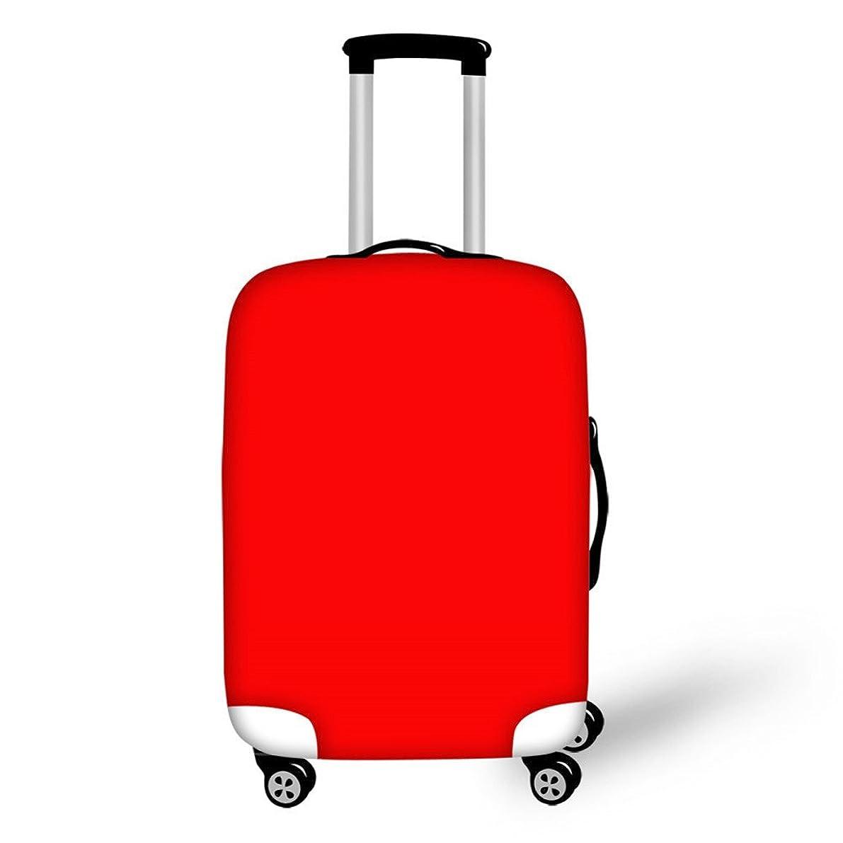 FOR U DESIGNS(JP) スーツケースカバー 伸縮素材 保護 盗難防止 防塵 おしゃれ
