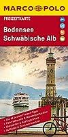 MARCO POLO Freizeitkarte Bodensee, Schwaebische Alb 1:100 000