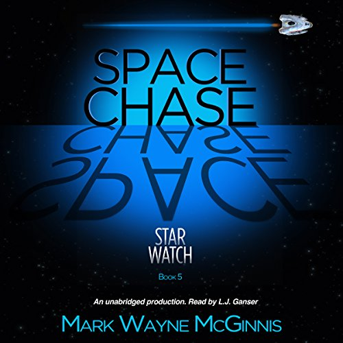 Space Chase audiobook cover art