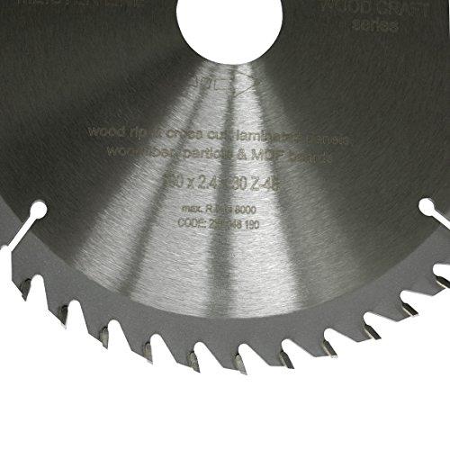S&R Kreissägeblatt 190 x 30 x 2,4mm 48T /Wood Craft/ Holz Kraft in Profiqualität - 2